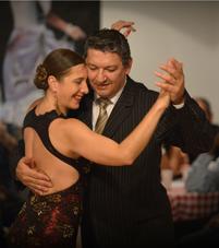 La Milonga de Café Dominguez avec les Maestros Sandra Messina y Ricardo Calvo