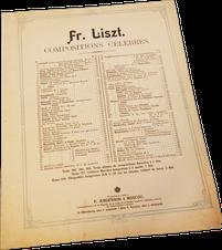 Память о России, Русский сувенир, Франц Лист, ноты для фортепиано