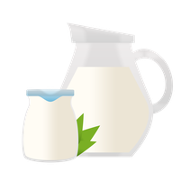 Low protein milk- and fermented milk products
