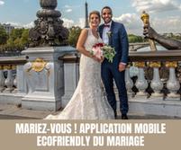 Mariez-vous ! Application mobile ecofriendly du mariage