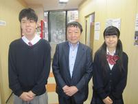 寺脇研さんを囲んで記念写真。
