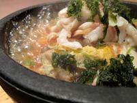自家製ぽん酢「石焼ほっき丼」