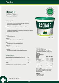 RACING E