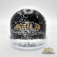 Bola de nieve Copos blancos  Akila Personalización