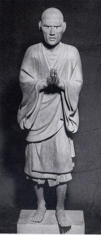 一遍立像。神奈川県・無量光寺蔵