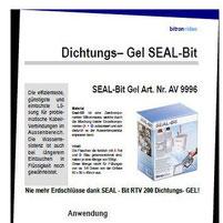 Seal Bit Gel Dichtungsmasse Kataloge