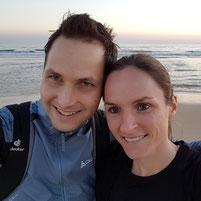 Trainingslager Monte Gordo: Marco und Anja