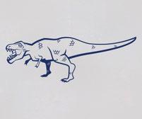 Rexy the Tyrannosaurus Rex Dinosaur wall art decal