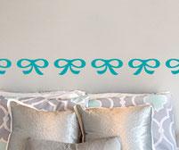 Pretty Ribbon Bows Wall Art stickers