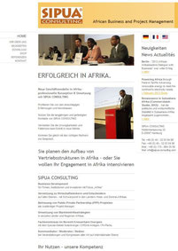 SIPUA Consulting - Erfogreich in Africa.