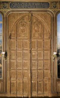 Porte de Rhodes - Château de Versailles.