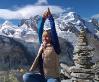 Isolde König Yoga Sportunion Schärding Bewegt im Park Gabriel Mayrhofer