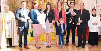 Luisa Marie Christina und Anton Sebastian wurden getauft.