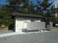 鐘崎漁港 織幡神社 トイレ