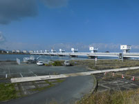 遠賀川河口堰 駐車場