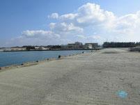 芦屋漁港 左側護岸