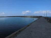 芦屋漁港 外波止内側
