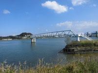 遠賀川河口堰下流 構築物