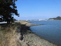 西川合流地点周辺 遠賀川側