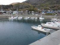 大島漁港 港内
