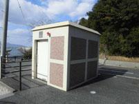 狩尾岬 トイレ