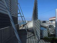 芦屋漁港 内波止入り口