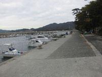 西ノ浜漁港 護岸