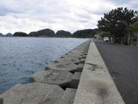 野波瀬漁港 右横 護岸 はこちらからどうぞ