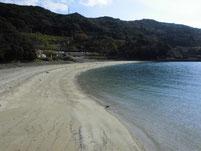 はなぐり海岸 砂浜