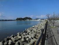 江川河畔公園周辺 下流側