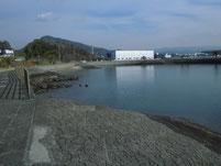 長田海浜公園 ヨットハーバー側 遊歩道