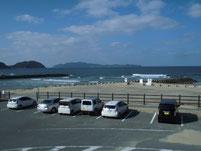 釣川河口部 駐車場