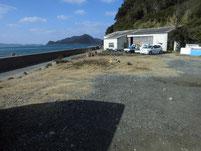 鐘の岬 駐車スペース