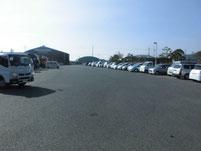 晴海親水公園 駐車場