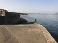 大東漁港 スロープ