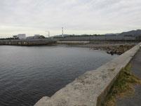 光井港 右側岸壁