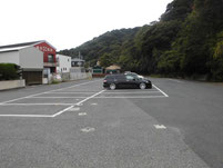フィシィングパーク光 駐車場