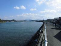 遠賀川 芦屋橋左岸側 上流