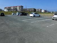 遠賀川河口堰上流側 駐車場