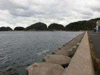 野波瀬漁港 右側の護岸 はこちらからどうぞ