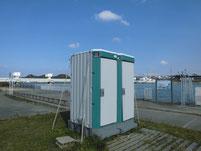 遠賀川河口堰 トイレ
