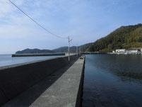 戸田漁港(桑原漁港) 内波止