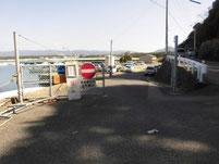 新宮漁港 旧波止側 駐車禁止