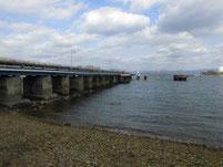 西ガ森海岸 桟橋