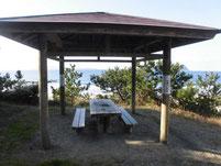 さつき松原海岸 休憩所