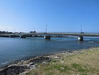 遠賀川 芦屋橋右岸側 上流