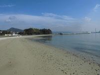 長田海浜公園 砂浜