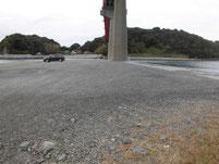 笠戸大橋下 駐車場