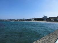 神湊漁港 砂浜側護岸