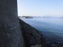 大東漁港 石積の土台
